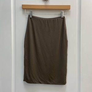 Wilfred high waist skirt size xxs
